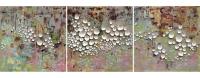 3x1m (acrylique, céramique sur lin)